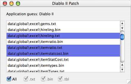 Madison : Diablo 2 item list for editor
